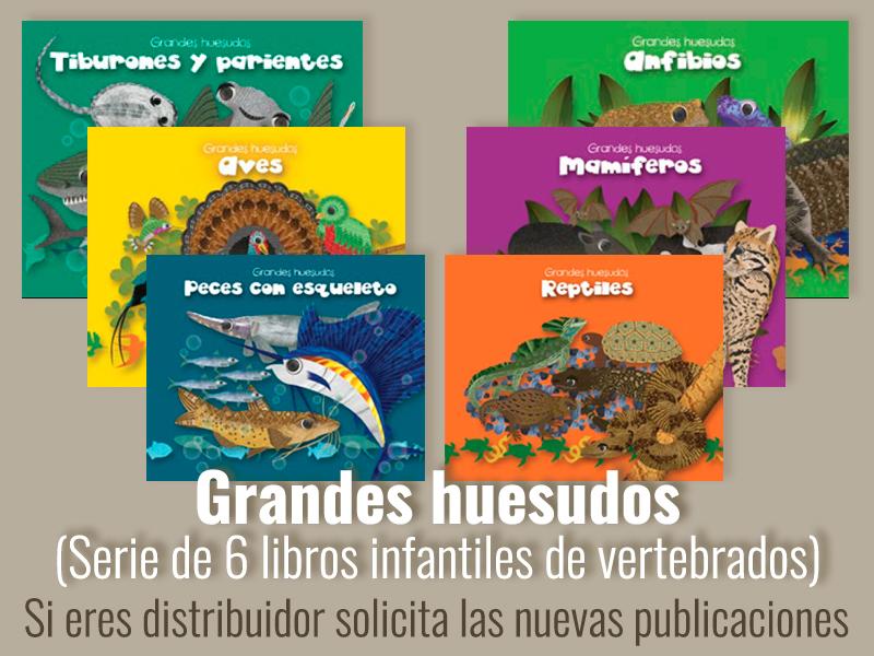 Publicación de libros Grandes huesudos