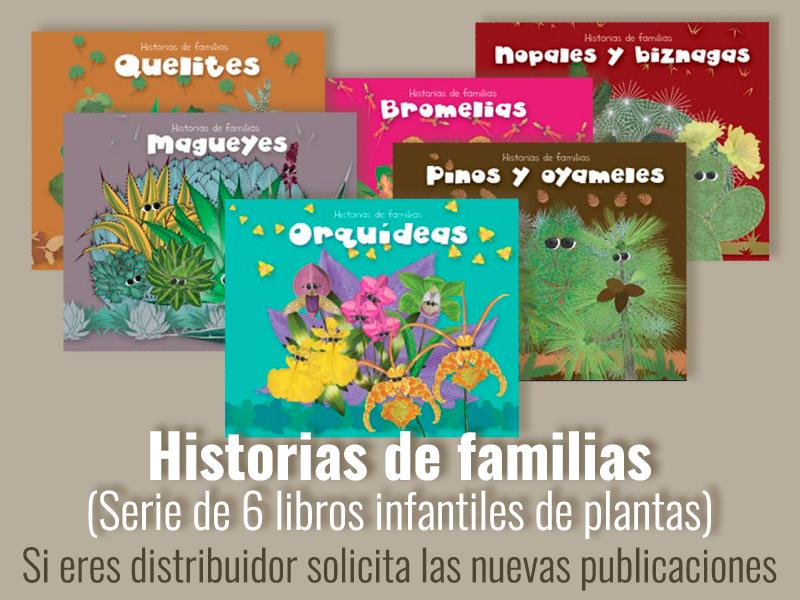 Publicación de libros Historias de familias